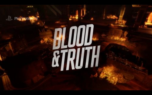 Blood & Truth for PSVR hands-on - VR shooting gallery is getting better