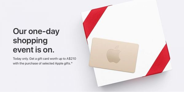 Apple's Black Friday shopping deal hits Australia, offers gift card worth up to $160