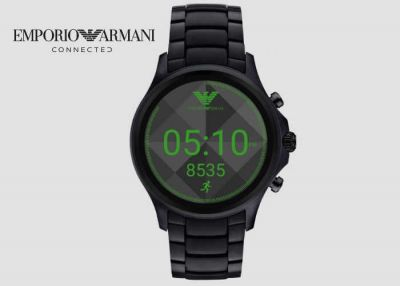 Emporio Armani Connected Touchscreen Smartwatch Unveiled