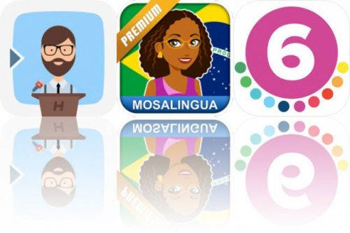 Today's Apps Gone Free: Prof. Hornet Teleprompter, Learn Portuguese and 6th Grade Vocabulary Prep