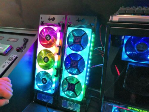 The InWin Ego Fan: The Ultimate RGB LED Fan