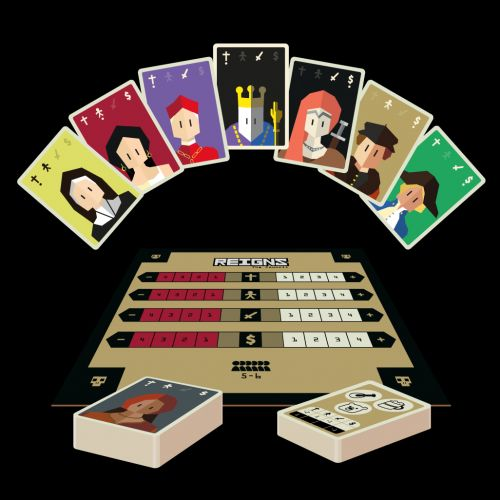 'Reigns: The Council' Is a 'Reigns' Board Game Coming to Kickstarter Soon
