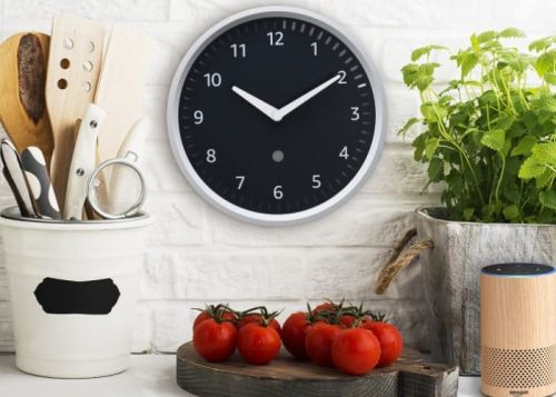Amazon Echo Wall Clock Alexa companion unveiled for $30