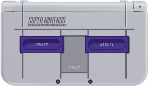 Nintendo 3DS XL goes retro with SNES Edition