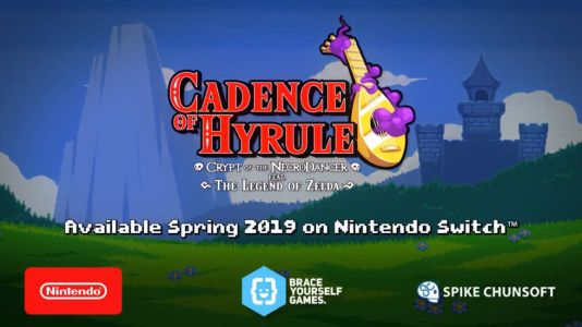 Cadence of Hyrule is a new Zelda rhythm game, coming to Switch this spring