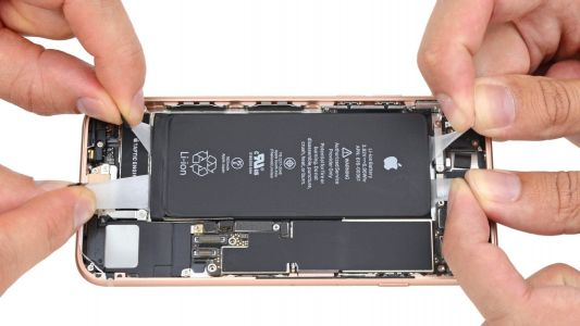 IFixit offers closeup look at what's inside the iPhone 8