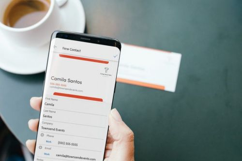 Adobe Scan App's Latest AI Feature Converts Business Cards into Phone Contacts