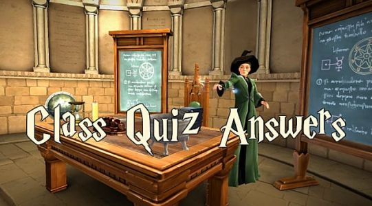 Harry Potter Hogwarts Mystery Answers For Class Quizzes