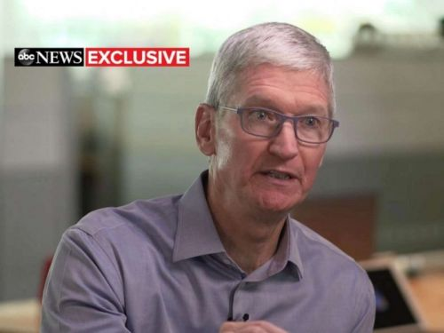 Apple CEO Tim Cook: 'I Will Fight Until My Toes Point Up' for DACA