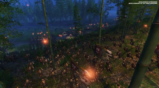 Total War: Three Kingdoms hands-on - Escaping a deadly night ambush