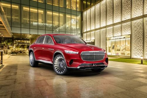 New Vision Mercedes Maybach Gets Official