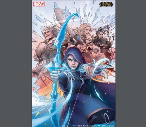 Marvel and Riot Games will make League of Legends graphic novels