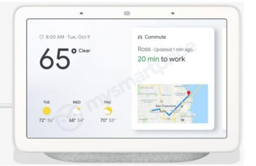 Google Home Hub Smart Display Leaked