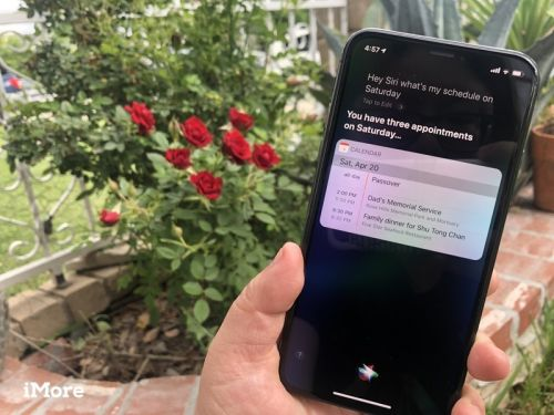 How to use Calendar with Siri