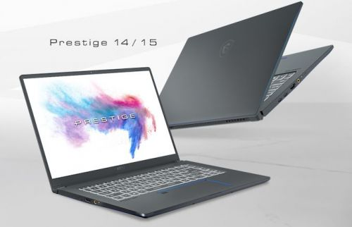 MSI's New Prestige 14 & 15 Laptops Get Intel's Comet Lake-U CPUs & Calibrated 4K Display