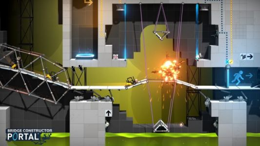 Valve Reveals Portal Spin-Off 'Bridge Constructor Portal' Coming to macOS and iOS December 20