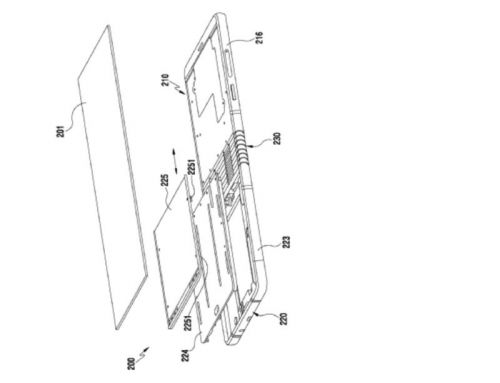 New Samsung Phone Patent Hints At The Foldable Galaxy X