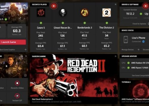 AMD Radeon Software Adrenalin 2020 enables remote game streaming and more