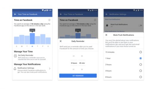 Facebook starts rolling out dashboard to show how much time you waste on it every day