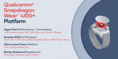 Qualcomm's Snapdragon Wear 4100 promises deeper, faster smartwatch apps