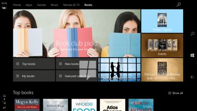 Windows 10 store will start selling e-books soon, leak suggests