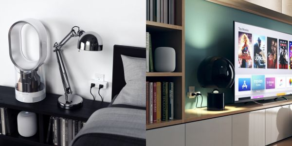 Satechi now sells a HomeKit plug that turns one dumb outlet into two smart outlets