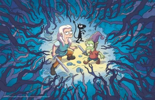Matt Groening's 'Disenchantment' Set For August 17 Release On Netflix
