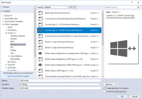 Console UWP Applications and File-system Access