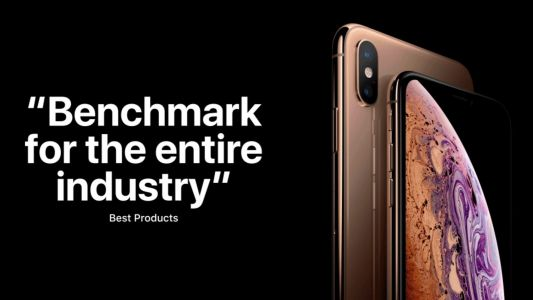 Apple shares its own iPhone XS review roundup, focusing entirely on the positives
