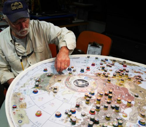 War Room: How Axis & Allies creator Larry Harris designed his ambitious WWII tabletop game