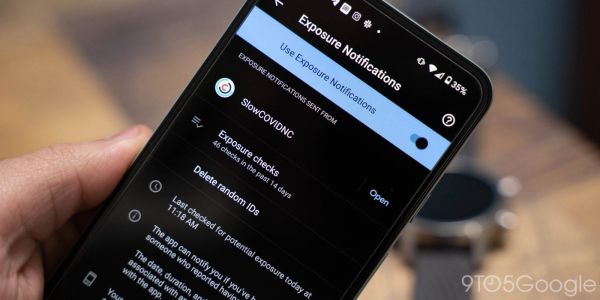 Google investigating issue w/ COVID-19 API on Android that causes endless 'loading' notification