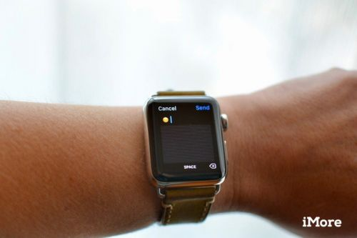 Send a more personalized emoji on Apple Watch using Scribble