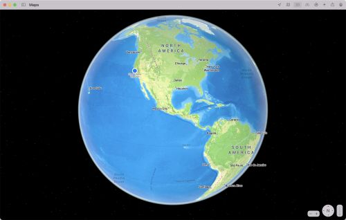 Maps in macOS Monterey: Interactive Globe, Detailed Terrain, 3D Landmarks, Updated Driving Features and More