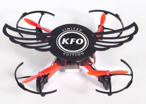 KFC Chicken Wing Box Transform Into A DIY Smartphone Controlled Drone