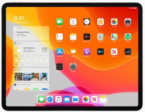 Apple Gives iPad Its Very Own OS: The iPadOS