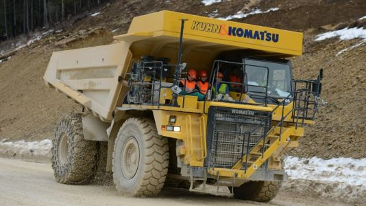 The world's biggest electric vehicle is this dumper truck