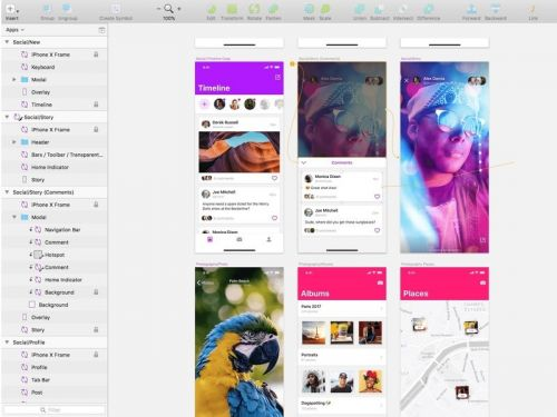 Update for Bohemian Coding's Sketch includes iOS 11 design template