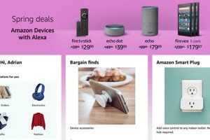 Amazon is offering killer spring deals on a bunch of its 'devices with Alexa'