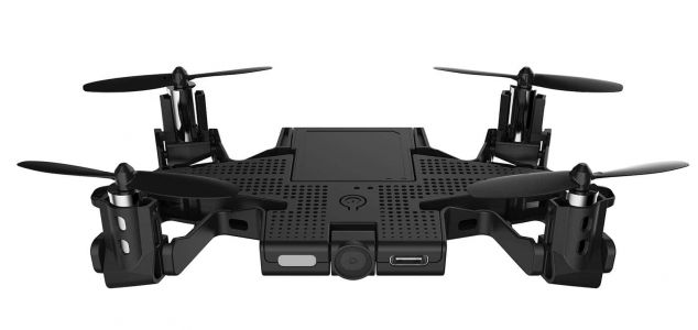 Best Of CES 2018: AEE SELFLY Smartphone Case With Embedded Drone