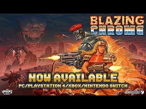 Blazing Chrome Review: An Invertible Classic