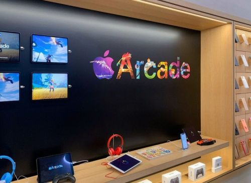 Some Apple Stores are getting a new Apple Arcade-inspired look