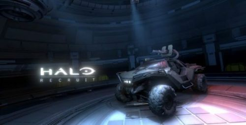 Halo's first trip into VR has a flat screen