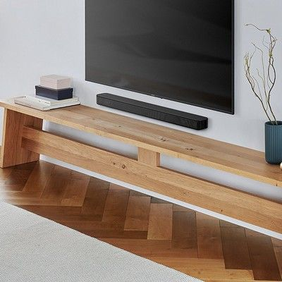 The Sony S100F 2.0-channel Bluetooth sound bar is just $98 right now