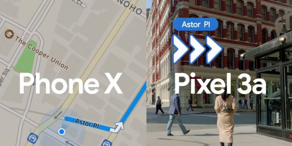 Latest 'Phone X' ad compares Apple Maps to Google Maps AR on Pixel 3a
