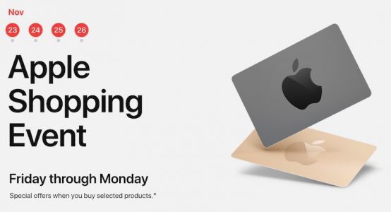 Apple's Black Friday Event Begins in Australia: Up to $280 Apple Store Gift Card With Select Products