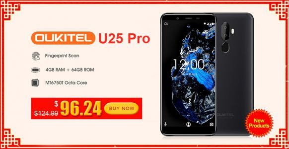 Both OUKITEL U25 Pro Variants Discounted To $96.24