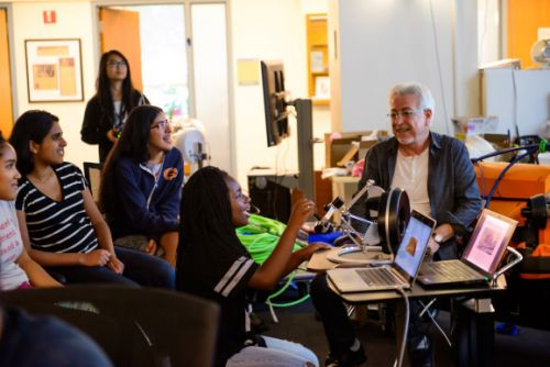 AI4All, created by Google Cloud's Fei-Fei Li, is pairing tech workers and high school students on AI projects