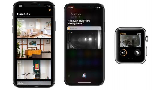 HomeCam app for HomeKit cameras adds support for Siri Shortcuts, Apple Watch app, more
