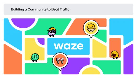 Waze gets a big and bright design update as people start traveling again