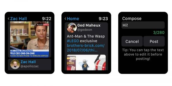 Chirp adds GIF and video playback to the best Apple Watch Twitter app